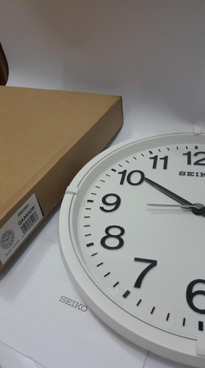 Jam Dinding Seiko Qxa652w - Daftar Harga Terkini dan Terlengkap ... a96196bd31