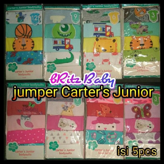 (New Arrival!!) Jumper Carter 5In1 (Lengan Pendek) ....