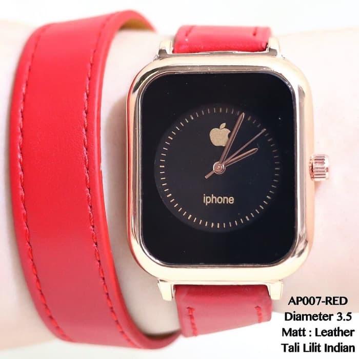 harga Jam tangan apple watch iphone tali kulit lilit termurah terlaris guess Tokopedia.com
