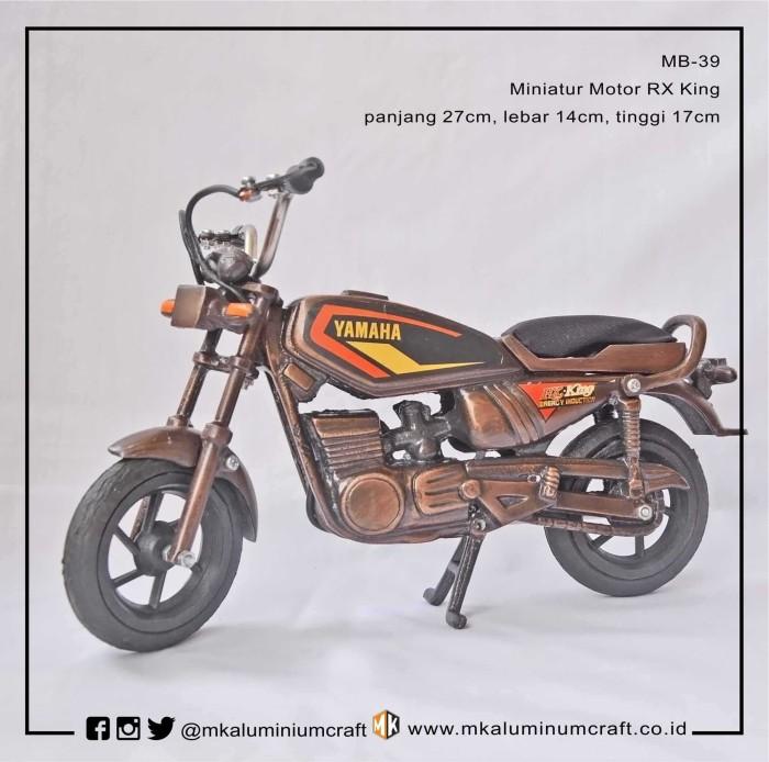 harga Diecast miniatur sepeda motor rx king - mk aluminium Tokopedia.com