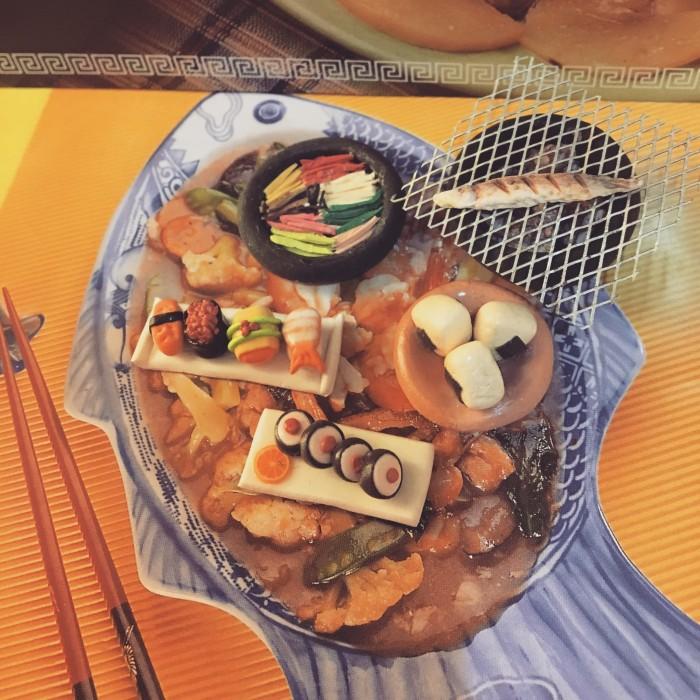 Foto Produk Miniatur clay set japan food dari Lynlyn