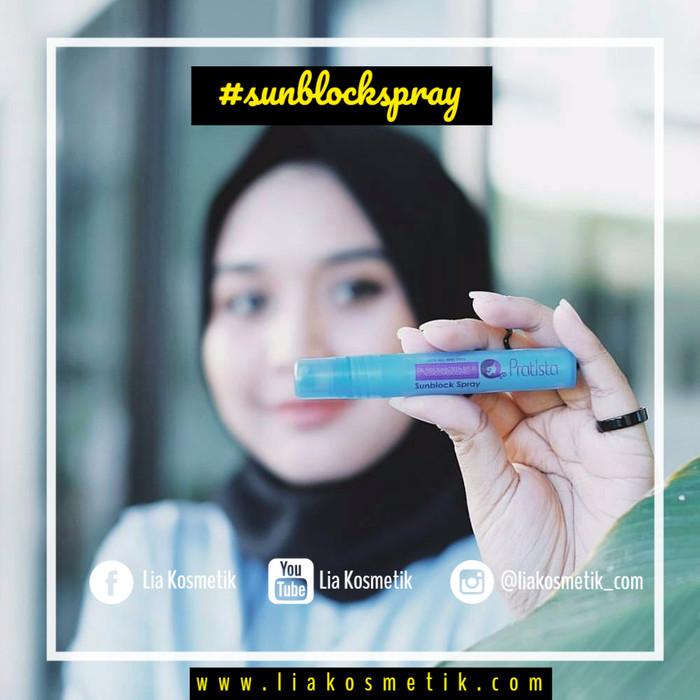 Sunblock spray pratista spf 30
