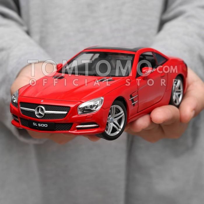 harga Mercedes-benz sl series tomtomo mobil mobilan diecast mainan cowok Tokopedia.com