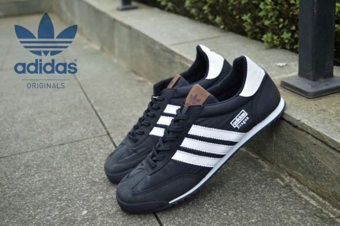 harga Sepatu casual pria adidas dragoon original premium black white 39-44 Tokopedia.com
