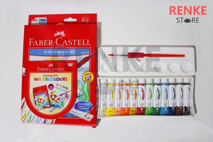 Jual Paket Menggambar Lukis Cat Air Faber Castell 12 Set Orisinal Kota Tangerang Renke Tokopedia
