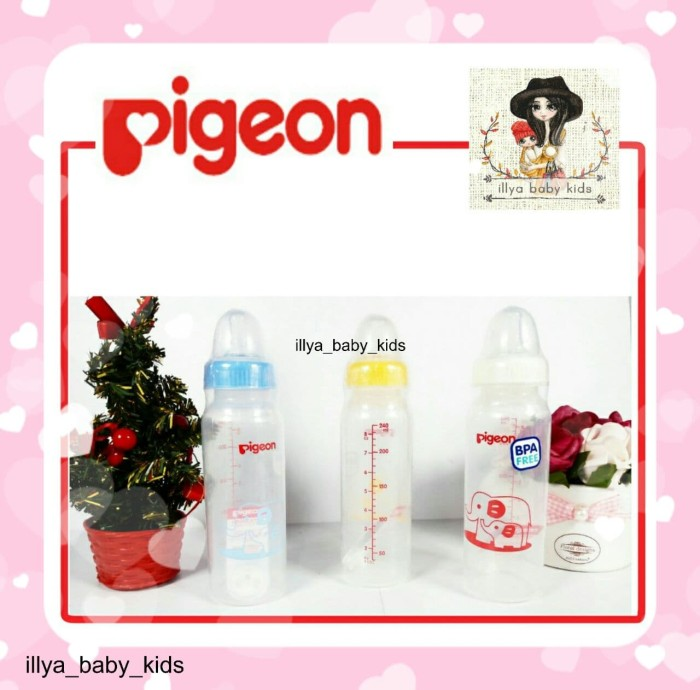 harga Botol susu pigeon standard assort 240ml Tokopedia.com