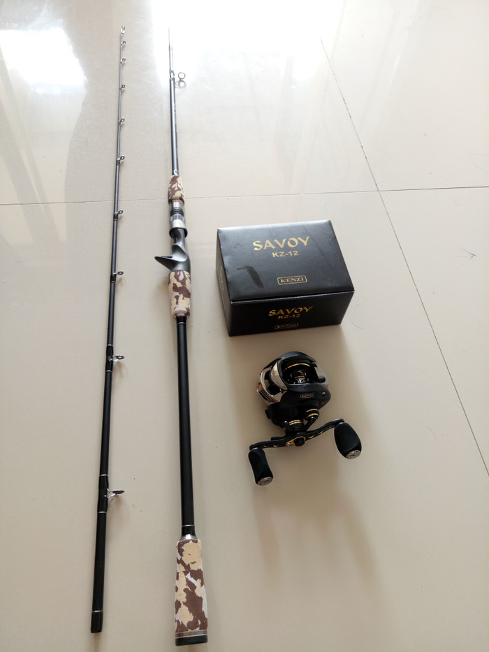 harga Set pancing bc kenzi black series brenio 1902 new Tokopedia.com