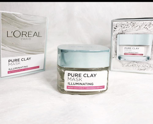 Info Loreal Pure Clay Mask Travelbon.com
