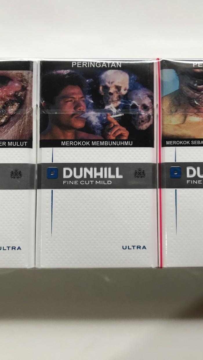 Jual Dunhill Mild Ultra 16 Batang Rokok Dunhil Putih Biru Soft 20 Slop