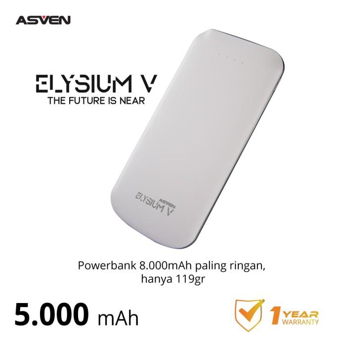 Foto Produk ASVEN POWER BANK ELYSIUM V 5000MAH dari Asven Indonesia