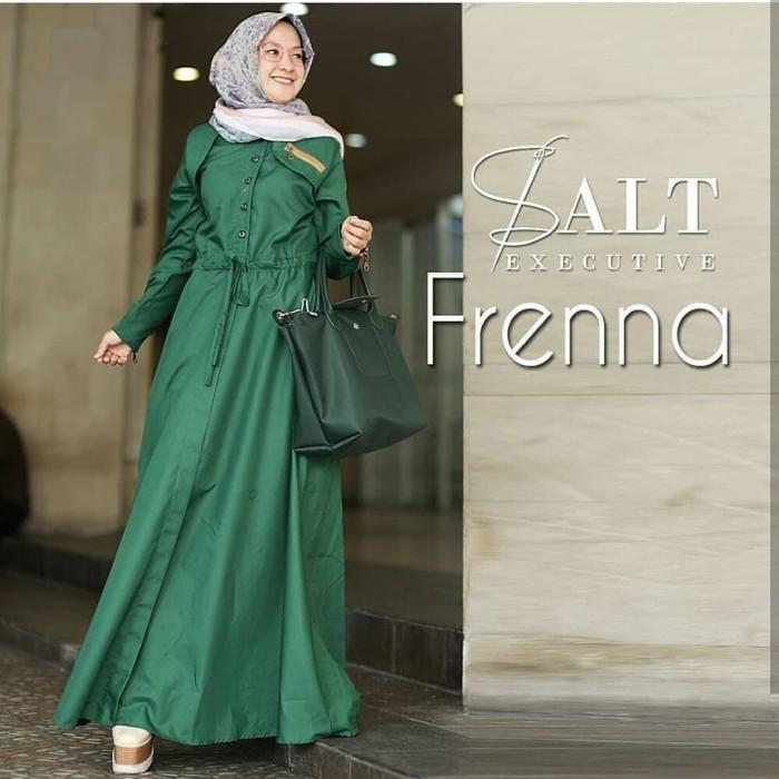 Jual Frenna Dress Maxy Baju Muslim Gamis Wanita Terbaru Pakaian
