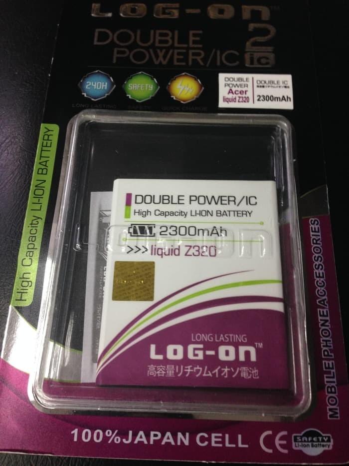 harga Baterai acer z320 z330 double power merk log on batre batere z320 z330 Tokopedia.com