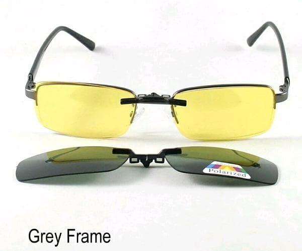Frame Kacamata Original untuk Lensa Minus dengan Clip On Sunglasses cee8146ecc