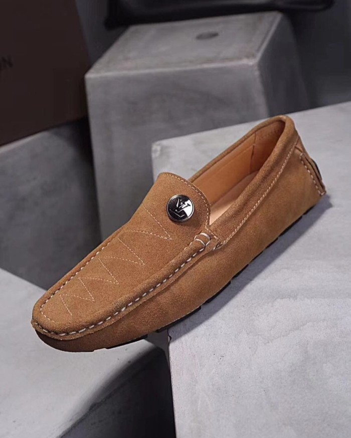 Jual Sepatu lv louis vuitton pria cowok loafer kulit mirror quality ... 1ae5aabd61
