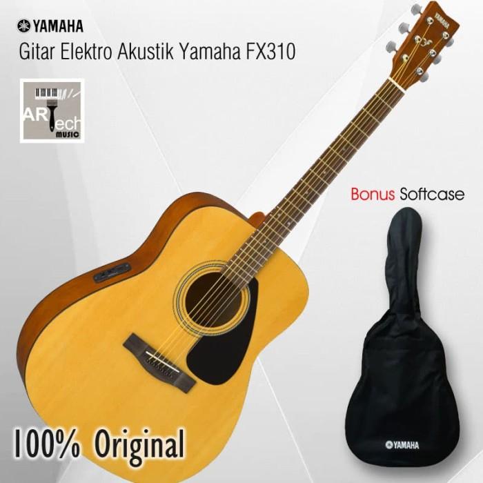 Jual Gitar Elektro akustik Yamaha FX310 Original, Electro Acoustic Guitar -  Kota Bekasi - ArtTech | Tokopedia