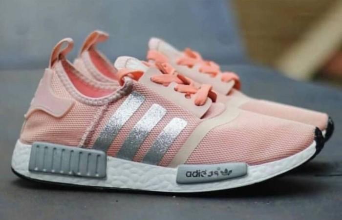 114bd47d407e Jual Sepatu Wanita - Adidas NMD R1 Glitter Salmon - GO - csneakers ...