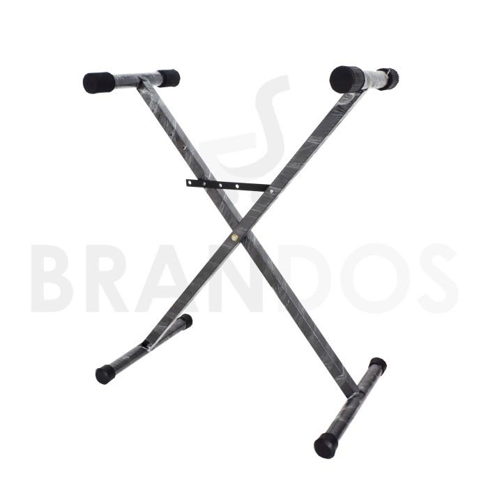 Foto Produk Stand Keyboard X Single Silang dari BRANDOS