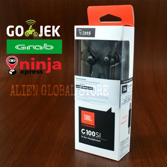 Kehebatan Jbl C100si In Ear Headphones With Mic Compatible With Source · Earphone JBL C100SI With Mic Original Garansi Resmi IMS Headset
