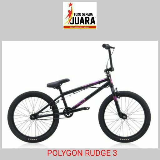 harga Sepeda polygon rudge 3 black bmx 20 inch freestyle Tokopedia.com