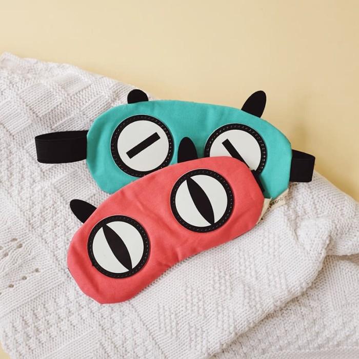 harga Cat eyes colorful sleeping mask / masker tidur kain ada gel Tokopedia.com