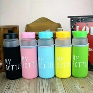 MY BOTTLE DOFF Infused Water [FREE POUCH] / my botle - Biru