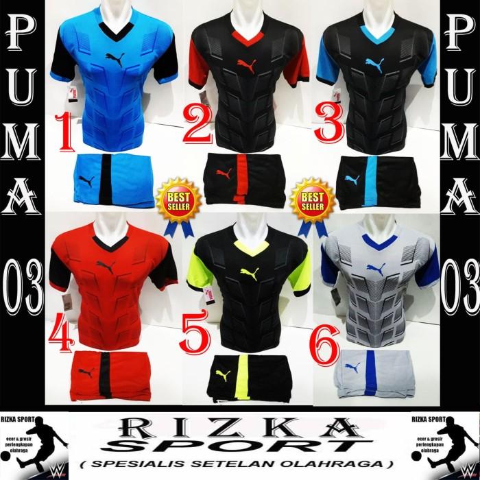 harga Baju kaos olahraga jersey bola setelan tim futsal / volly puma all Tokopedia.com