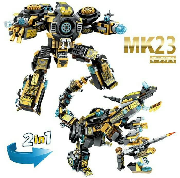 harga Sy sembo 60023 lego ironman mk23 hulkbuster 2in1 super heroes mk 23 Tokopedia.com
