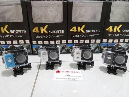 Jual Action Camera Sport Cam 4k Ultra Hd 16 Mp Hasil