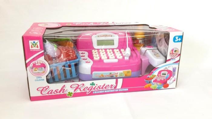 harga 10491 mainan kasir kasiran cash register check out ls820 Tokopedia.com