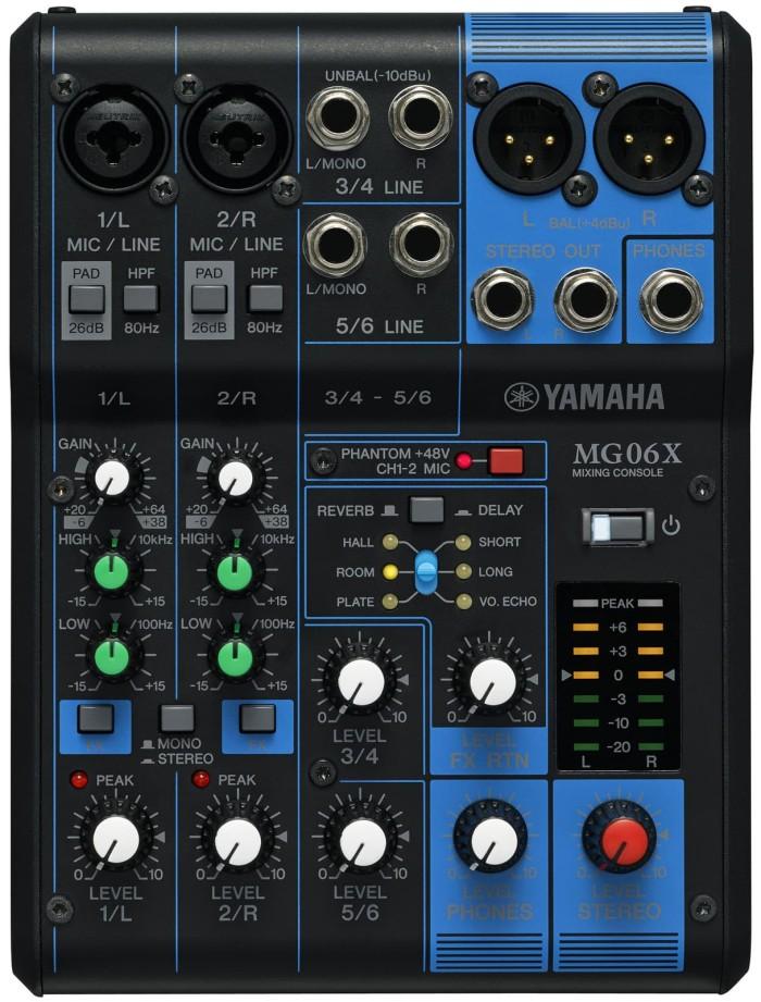 harga Yamaha mixer  mg-06 xu Tokopedia.com