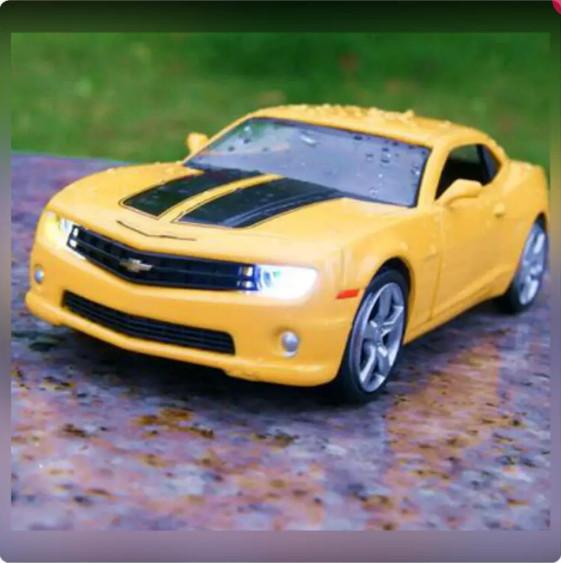 Jual Diecast Chevrolet Camaro Soundlight Putih