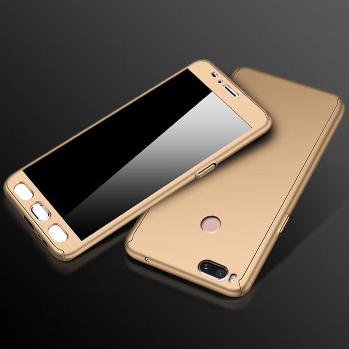 Xiaomi mi 5x 5 x/ a1 a 1 casing full 360 free tempered glass case