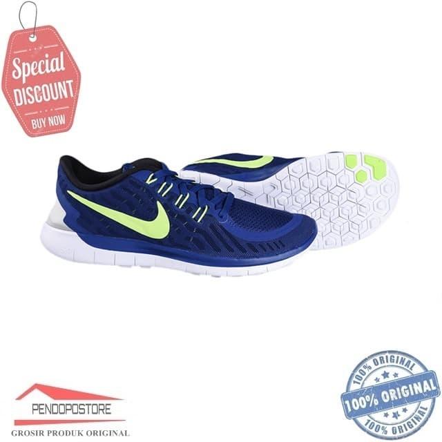 more photos c950d 14d9e Jual Sepatu Running Nike Free 5.0 724382-407 Sneakers Gym Ori Fitnes BNIB -  Jakarta Selatan - Pendopo-store | Tokopedia