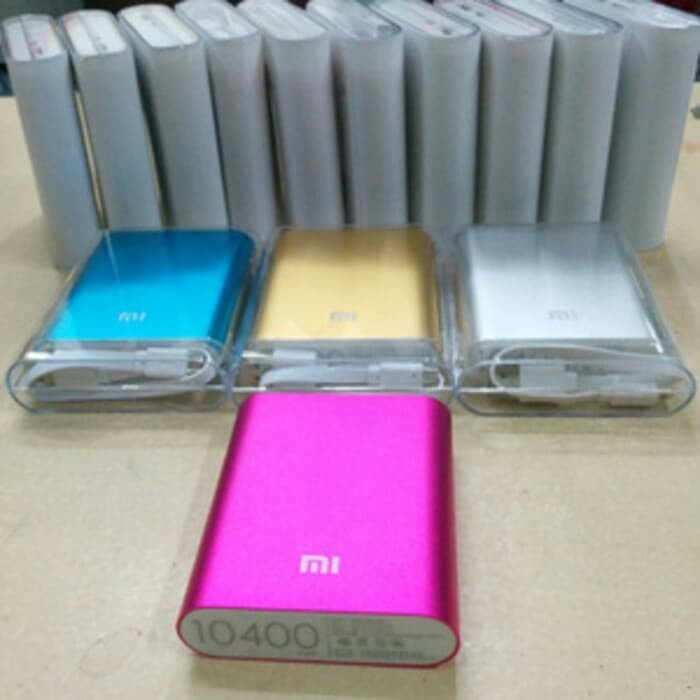 harga Powerbank xiaomi 10400 mah / power bank xiaomi 10.400mah Tokopedia.com