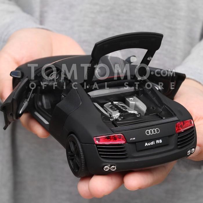 harga Audi r series tomtomo mobil mobilan sport diecast mainan anak cowok Tokopedia.com