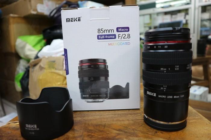 harga Lensa meike 85mm f2.8 macro multi coated full frame for sony e mount Tokopedia.com
