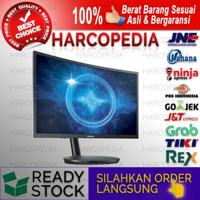 harga Monitor led samsung 27 inch curved gaming c27fg70 Tokopedia.com