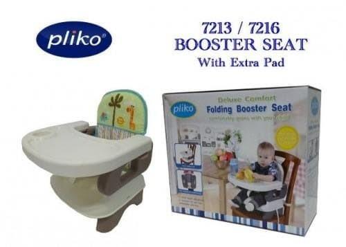 harga Pliko folding booster seat-kursi makan bayi-baby high chair 100% ori Tokopedia.com