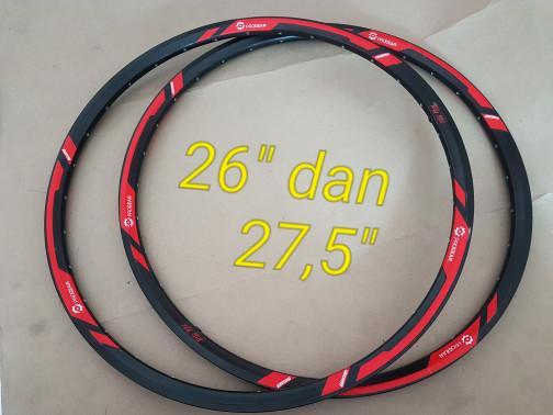 harga Sepasang velg rims progear crossover 26 dan 27.5 . not araya folker Tokopedia.com