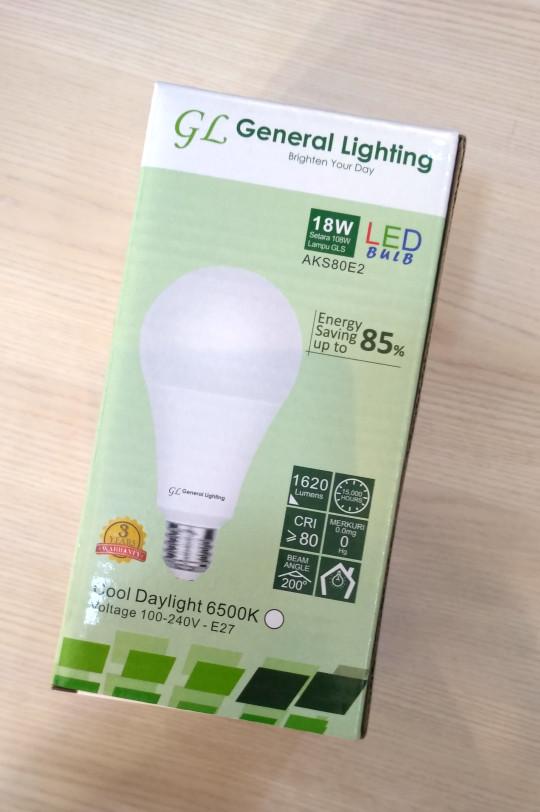 harga Promo sale bulb lampu bohlam led gl 18w putih murah kualitas philips Tokopedia.com