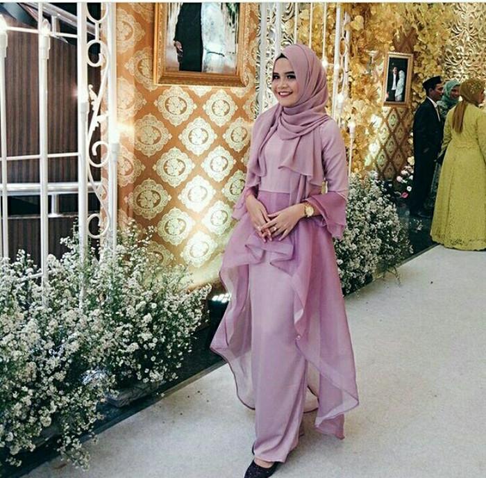 Model Baju Organza Muslim Galeri Jilbab