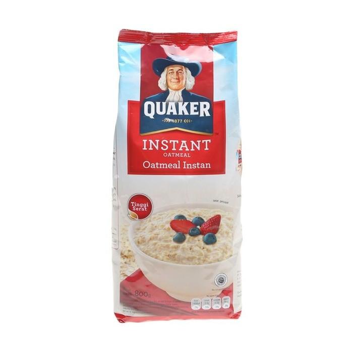 harga Quaker oatmeal instant 800 gram plus 200 gram Tokopedia.com