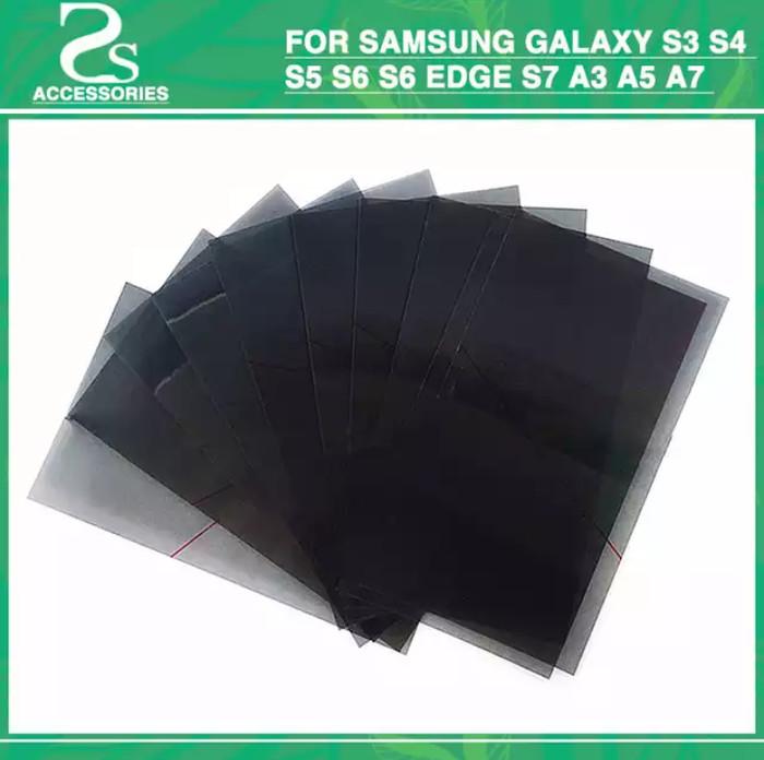 harga 10 pcs lcd polarizer polarized cahaya film for samsung galaxy s6 s7 Tokopedia.com