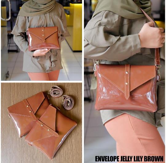 EL PIAZA Jelly Envelope Women Clutch Bag - Sling Bag Tas Genggam ToteBag  Lucu Tas Jalan 3e277994c2