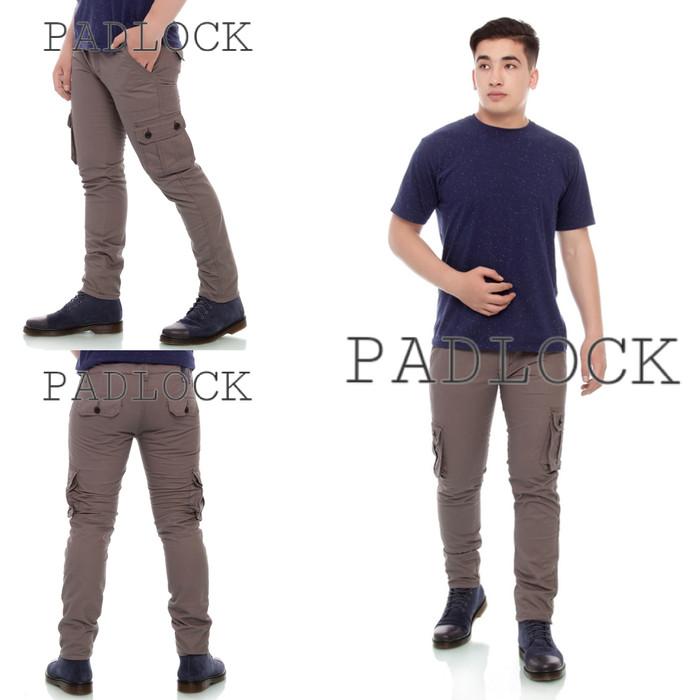 harga Celana cargo pria panjang / celana gunung / celana pdl / padlock Tokopedia.com