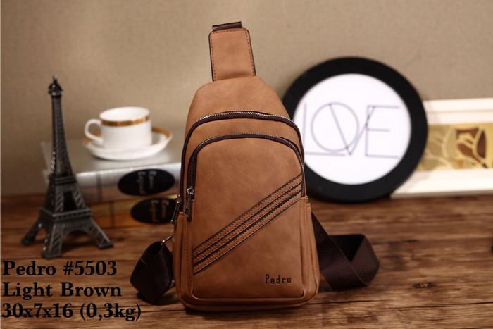 harga Go-send tas selempang pria/ man waist bag - pedro #5503 Tokopedia.com