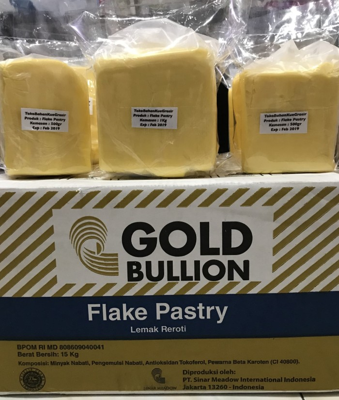 harga Flake pastry gold bullion korsvet repack 1 kg Tokopedia.com