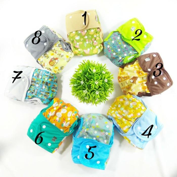 Clodi minikinizz izzy eco | cloth diaper | popok kain | grosir murah - motif 12