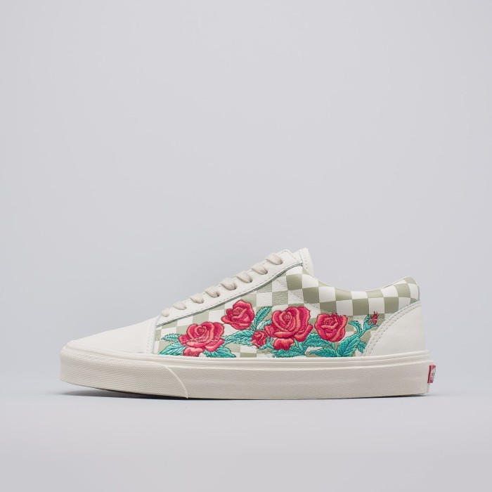8f864c0796c Jual Vans Old Skool DX Rose Embroidery in Marshmallow - Kota Medan ...