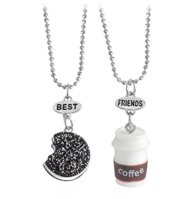 harga Kalung anak/abg/remaja - best friend forever bff - oreo coffee (2 pcs) Tokopedia.com